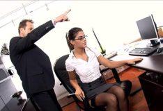 Tesão Secretária fodida em sua mesa red tbe