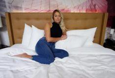 GirlsDoPorn – Athena Anal Sex – First Porn Movie