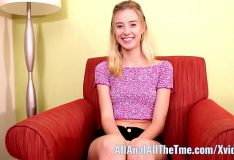American sexy Hot Tall Teen Haley Reed Gets Fucked in Ass for All Anal